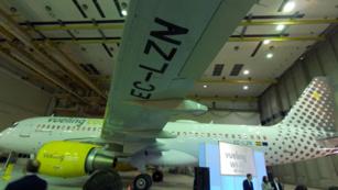 Vueling ya tiene su primer avión con WiFi de alta velocidad instalado gracias a su alianza con Telefónica