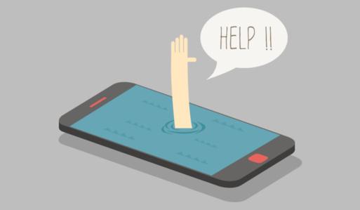 El ser humano está perdido sin su smartphone.
