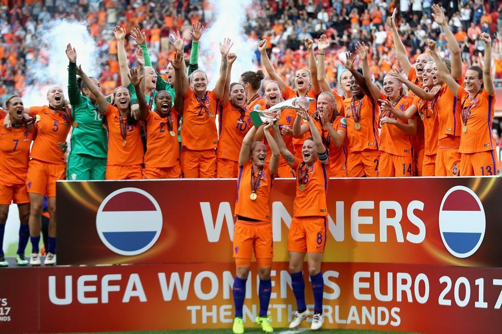 El fútbol femenino europeo es cosa seria.