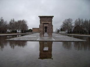 Templo de Debod. (Donación del Estado de Egipto a España). Madrid