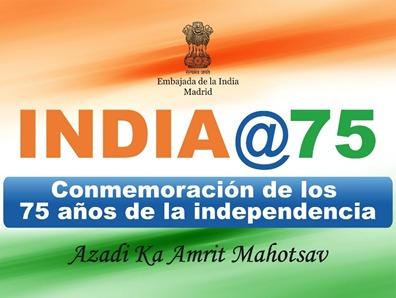 Carta de Mensaje con motivo de la conmemoración del 75º Aniversario de la Independencia de la India