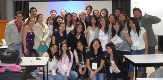 """Algunos de los participantes del Taller """"Comunicación estratégica e innovación""""."""