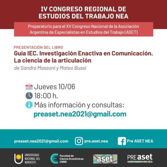 Congreso de la Asociación de Especialistas en Estudios del Trabajo