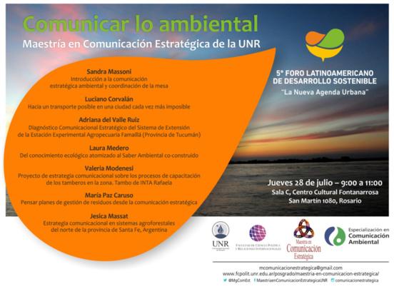 Seis proyectos de comunicación estratégica ambiental