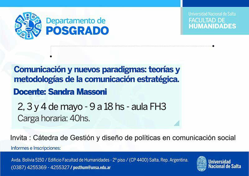 Comunicación y nuevos paradigmas en Salta