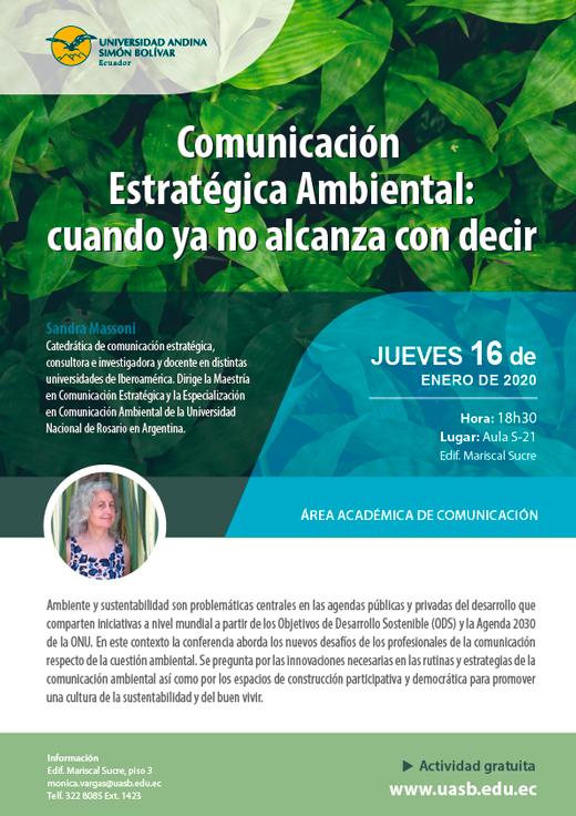 Comunicación Estratégica Ambiental: cuando ya no alcanza con decir