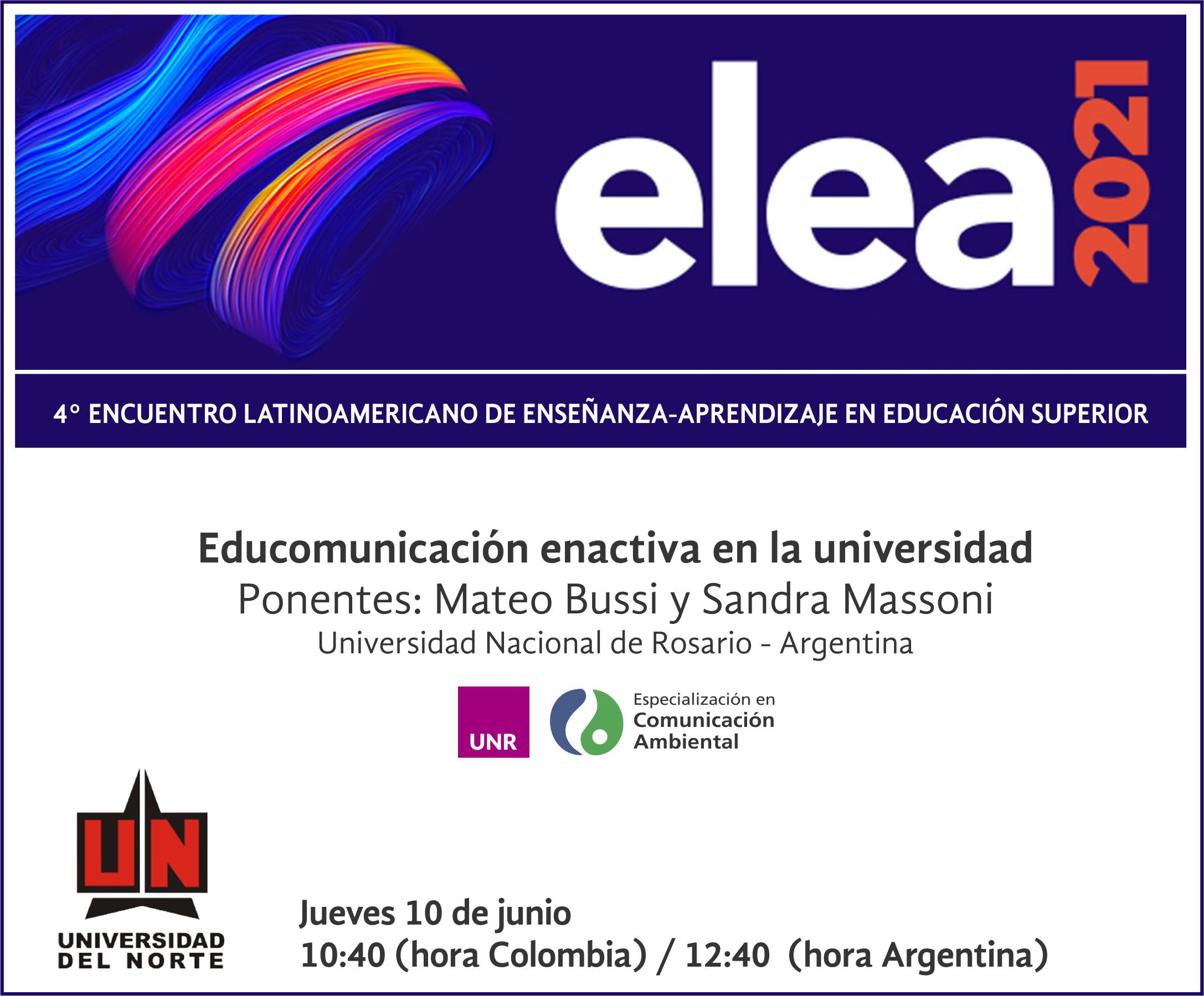 Encuentro Latinoamericano de enseñanza-aprendizaje en educación superior
