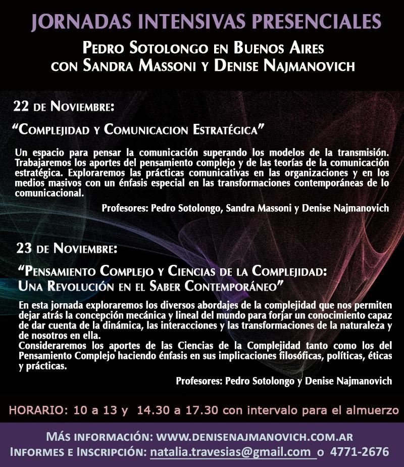 Seminario de una jornada sobre comunicación y complejidad