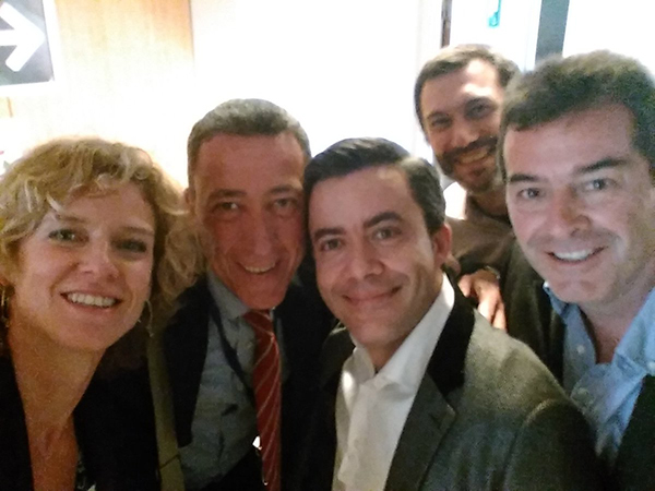 Speakers presentado Nesi en Bruselas.