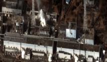 La planta nuclear de Fukushima I, en 2011, tras el 'tsunami'. Imagen: Digital Globe. Fuente: Wikipedia.