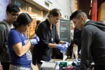 Misha Leong y  Michelle Trautwein, las investigadoras. Foto: California Academy of Sciences