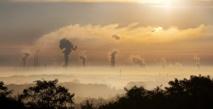 Paisaje industrial en Alemania. Foto: Rabe