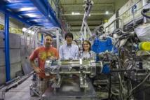 Los investigadores. Foto: CERN.