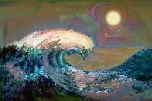 Tsunami. Creación artística. Artmus.