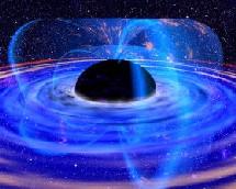 Energía desprendida por un agujero negro