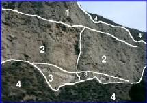 Figura 2. Imagen geológica segmentada