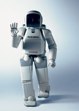 Robot Asimo de Honda.