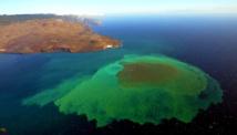 El volcán Tagoro. Foto: CSIC