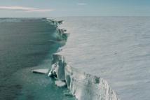 Perspectiva de la Barrera de Hielo Filchner-Ronne en el mar de Weddell (Foto: Ralph Timmermann, AWI.)