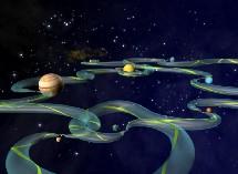 Autopistas interplanetarias. Creatividad.