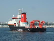 Buque alemán de investigación oceánica. Foto: GGFLO29