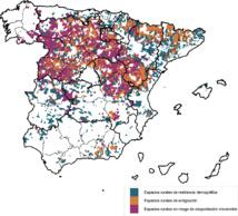 La España vacía. Fuente: UAB