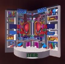 Reactor del ITER. Modelo.