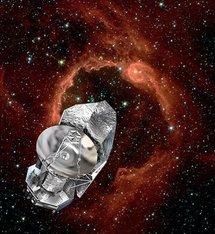 Representación artística del Observatorio Espacial Herschel. Foto: ESA.