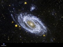 Galaxia espiral. Nasa.