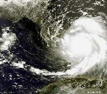 El huracán katrina. ESA