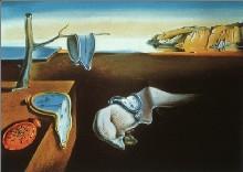 Persistencia de la memoria. Dalí.