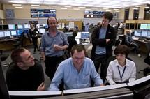 Entusiasmo en el CERN. Foto: CERN.
