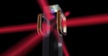 Ilustración artística de una trampa magnetoóptica y un chip atómico como el que va a ser utilizado por el (CAL) de la NASA a bordo de la Estación Espacial Internacional. Foto: NASA/JPL-Caltech.