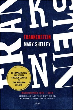 """Una edición anotada para curiosos desvela el contenido científico de """"Frankenstein"""""""