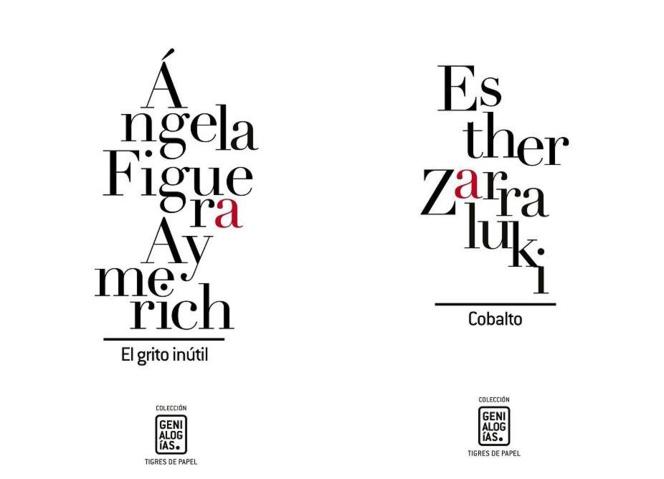 Dos nuevos libros (quinto y sexto) de la Colección Genialogías. Fuente: Asociación Genialogías.