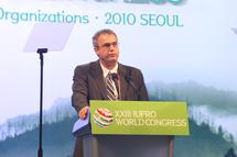 Eduardo Rojas Briales, Responsable Forestal de FAO. © XXIII IUFRO World Congress