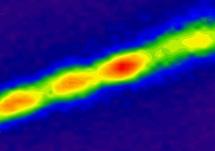 Los filamentos integran 30 millones de nanotubos de carbono. Imagen: Geraldine Paulus / MIT.
