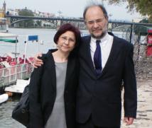Eduardo Costas y Victoria López.