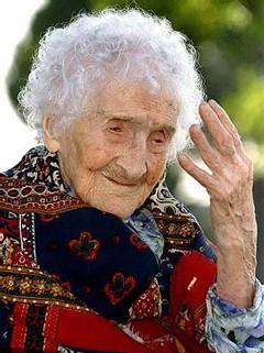 Jeanne Calment, 122 años, todo un enigma para la ciencia.