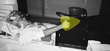 Un voluntario completa tareas mientras su actividad neuronal es escaneada con tecnología IRMf. Fuente: Universidad de Western Ontario.