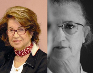 Dionisia García (izquierda) y Ana Rosetti, nuevas autoras de la Colección Genialogías.