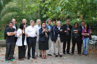Los expertos culturales reunidos en la Isla del Pensamiento. Foto: Fundación Isla del Pensamiento