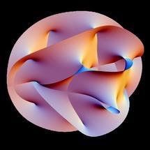 Se postula que las dimensiones extras de la teoría de supercuerdas tienen esta forma. Fuente: Wikimedia Commons.
