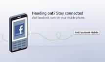 Facebook para móviles.