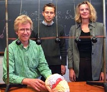 Los artífices de la investigación... y los péndulos. Washington University.
