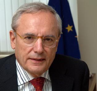 Jacques Barrot, Vicepresidente de la Comisión Europea.