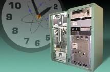 Reloj atómico de la Nasa.