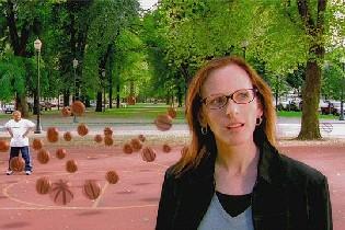 Amanda (Marlee Matlin), en un momento de la película.