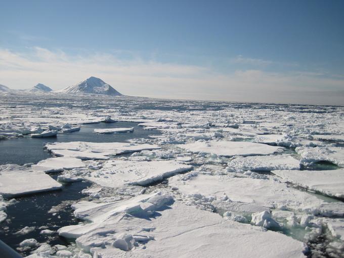 El Ártico en peligro. Fuente: CSIC.