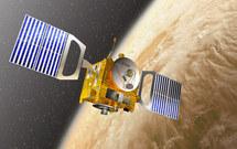 Venus Express permanece desde 2006 en órbita alrededor del planeta más cercano a la Tierra. Fuente: D. Ducros/ESA.